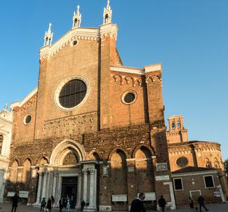 Bild: Die Klosterkirche der Dominikaner in Venedig: Santi Giovani e Paolo