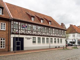 Bild: Das Schifffahrtsarchiv in der Königstadt von Rendsburg