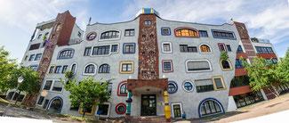 Bild: Hundertwasserschule in der Lutherstadt Wittenberg