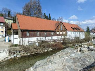 Bild: Gräfliche Hofmühle, An der Aach in Immenstadt