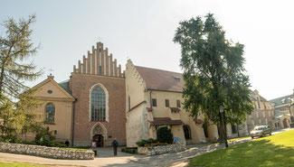 Bild: Franziskanerkloster in Krakau