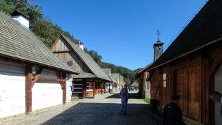 Bild: Das Freilichtmuseum Sanok in Polen