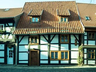 Bild: Ständerbau in Wernigerode