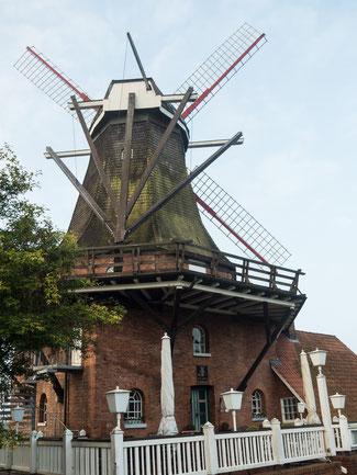 Bild: Borsteler Mühle in Jork im Alten Land bei Hamburg