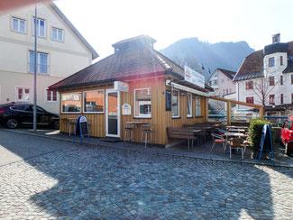 Bild: Neues Waagehaus/Eichgebäude auf dem Landwehrplatz 4 in Immenstadt
