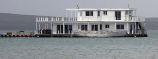 Bild: Hausboote in Kraalbaai