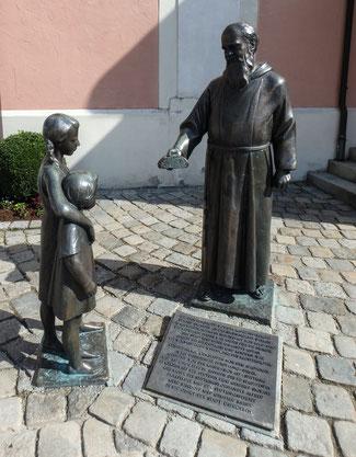 Bild: Kapuzinermönch in Immenstadt