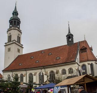 Bild: Die Stadtkirche von Celle