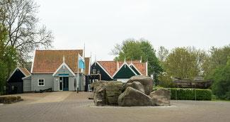 Das Museum von Schokland in den Niederlanden