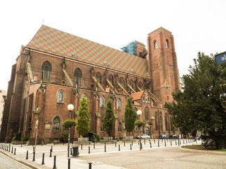Bild: Die Magdalenenkirche zu Breslau