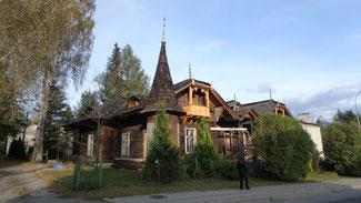 Bild: Die Kirche von Luowiska