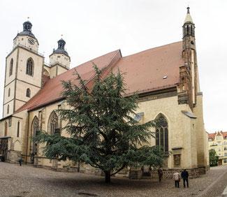 Bild: Evangelische Stadtkirche St. Marien in Lutherstadt Wittenberg