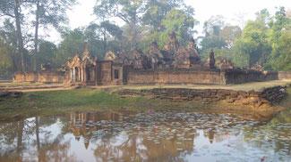 Bild: Tempel in Angkor Watt