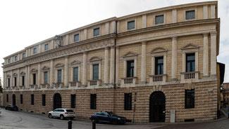 Bild: Bischofspalast in Vicenza, Italien