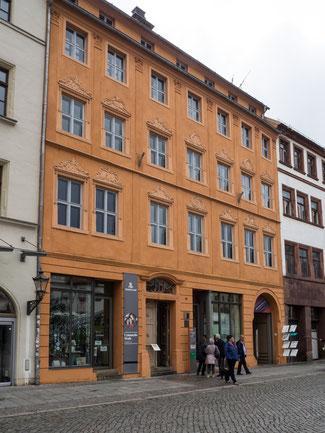 Bild: Cranach-Haus und Cranach-Höfe in Wittenberg