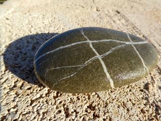 Bild: Typischer Stein von Rhodos.