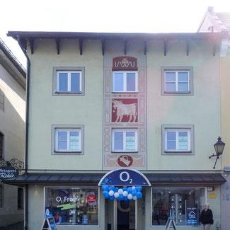 """Bild: Ehemaliger Gasthof """"Zum Ochsen"""", Marienplatz 15 in Immenstadt im Allgäu"""