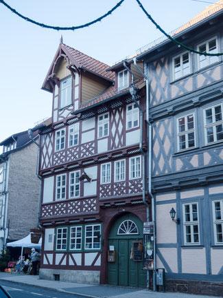 """Bild: Gebäude der """"Krellsche Schmiede"""" in Wernigerode im Harz"""