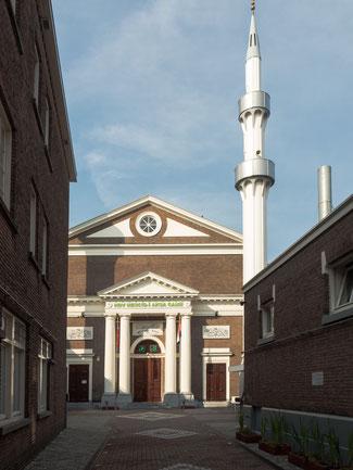 Bild: Die Aksa-Moschee in Den Haag in Chinatown dem chinesischen Viertel