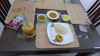 Bild: Frühstück im 2*-Hotel in Colombo