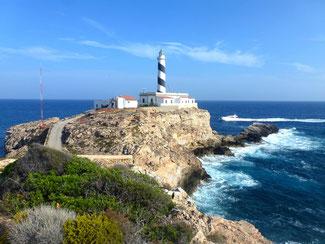Bild: Leuchtturm Faro del Cap Figuera