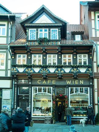 Bild: Café Wien in Wernigerode im Harz