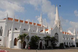 Bild: Die St. Thomas Basilika in Chennai