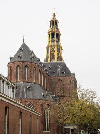 Bild: A-Kirche in Groningen