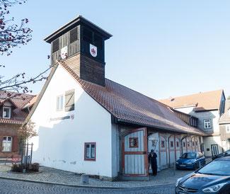 Bild: Das Gebäude der Feuerwehr in Wernigerode im Harz