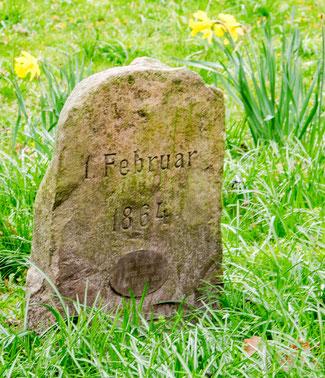 Bild: Foto vom Gedenkstein