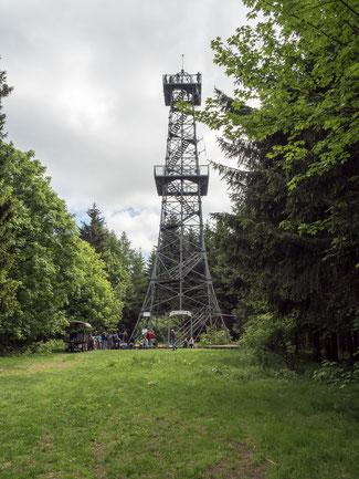 Bild: Poppenbergturm im Südharz