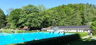 Bild: Waldbad in Ilfeld im Südharz