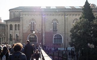 """Bild: Das berühmte Museum """"Galleria dell´Accademia"""" in Venedig"""