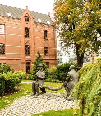 Bild: Universitätsberg in der Stadt Oppeln