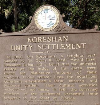 Bild: Korishan State Park - Informationsschild