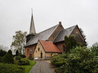Bild: Die Kirche in Rieseby in Schleswig Holstein