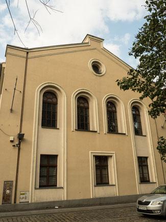 Bild: Ehemalige Synagoge in der Hospitalstraße