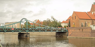 Bild: Die Dombrücke in Breslau