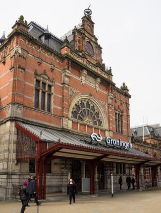 Bild: Der Bahnhof von Groningen