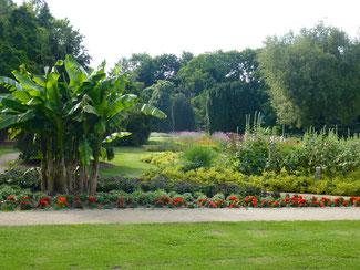 Der Blumengarten des Botanischen Sondergartens an der Wandse