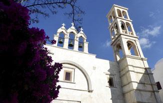 Bild: Das Kloster Panagia Tourliani in Ano Mera