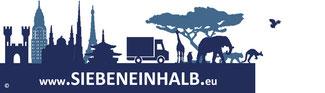 Head unserer Internetseite: www.SIEBENEINHALB.eu