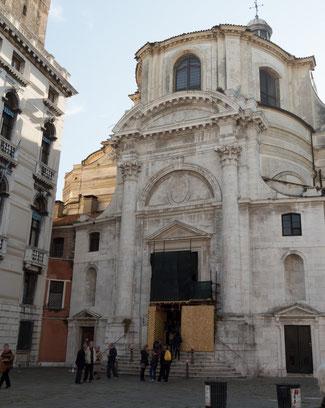 Bild:  Die Kirche San Geremia in Venedig