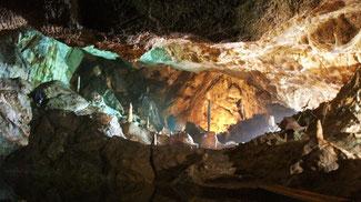 Bild: Tropfsteinhöhle Berg bei Bad Grund