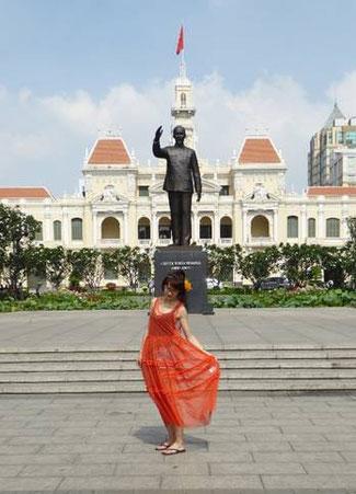 Bild: Saigon Denkmal