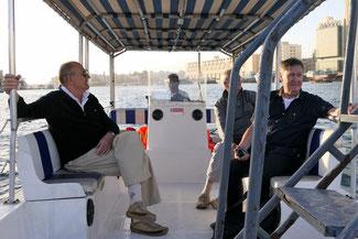 Bild: Bootsfahrt in Dubai