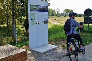 Fahrradfahren im Grenzgebiet