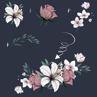 samenstellen bloemgroep