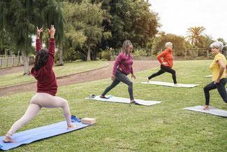 Yoga adultes - Saint-Pierre-des-Corps avec christine videgrain - association harmonie et bien-etre touraine