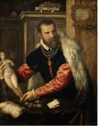 Tiziano, Ritratto di Jacopo Strada (1567-1568)
